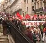 Жители 24 португальских городов вышли на антиправительственные протесты