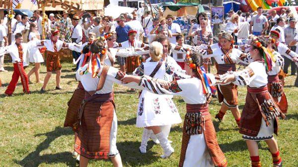 Международный гуцульский фестиваль в Яремче в 2018
